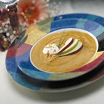 Autumn Gold Peanut Soup