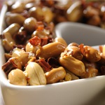 Peanuts with Arbol Chilli Pepper