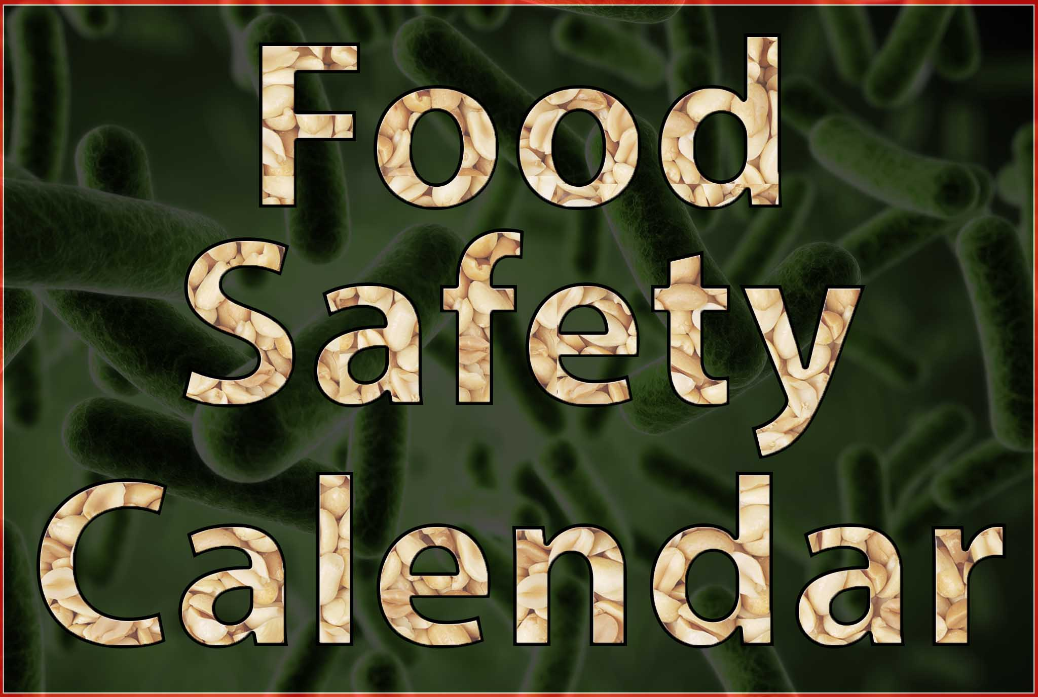 food safety calendar button