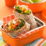 Asian Chicken and Veggie Wrap