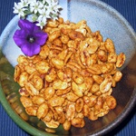 Hot and Spicy Spiced Peanuts
